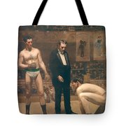 Taking The Count Tote Bag