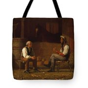 Talking It Over , Enoch Wood Perry  Tote Bag