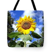 Tall And Sunny Tote Bag