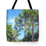 Tall Pine Trees Tote Bag