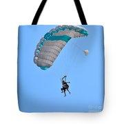 Tandem Paragliding Tote Bag