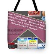 Tarceva Nsclc, Side Effects, Medicine, Cost, Medication, Drug Tote Bag