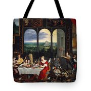 Taste, Hearing And Touch Tote Bag