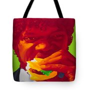 Tasty Burger Tote Bag
