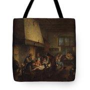 Tavern Scene Tote Bag