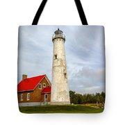 Tawas Point Lighthouse - Lower Peninsula, Mi Tote Bag