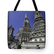 Temple Detail In Bangkok Thialand Tote Bag