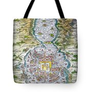Tenochtitlan (mexico City) Tote Bag