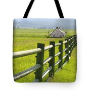 Tent Living Montana Tote Bag
