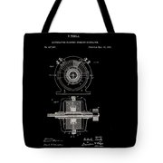 Tesla Generator Patent 1891 Tote Bag
