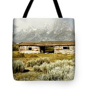 Teton Ranch Tote Bag