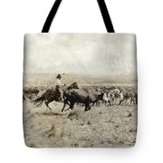 Texas: Cowboy, C1908 Tote Bag