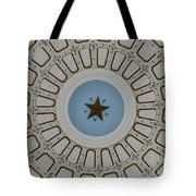 Texas State Capitol - Interior Dome Tote Bag