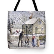 Thanksgiving, 1882 Tote Bag