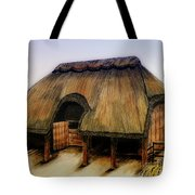 Thatched Barn Of Old Tote Bag