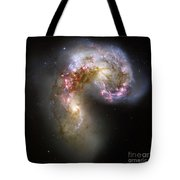 The Antennae Galaxies Tote Bag by Stocktrek Images