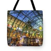The Apple Market Covent Garden London Art Tote Bag