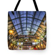 The Apple Market Covent Garden London Tote Bag
