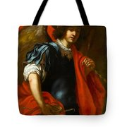 The Archangel Michael Tote Bag