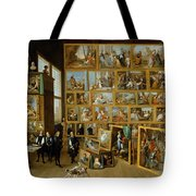 The Art Collection Of Archduke Leopold Wilhelm In Brussels Tote Bag