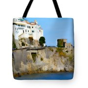 The Beach At Amalfi Tote Bag