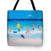 The Beach Parade Tote Bag