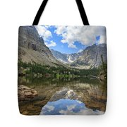 The Beautiful The Louch Lake With Reflection And Clear Water Tote Bag