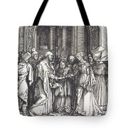 The Betrothal Of The Virgin Tote Bag
