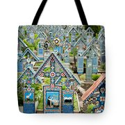 The Blue Cemetery Tote Bag