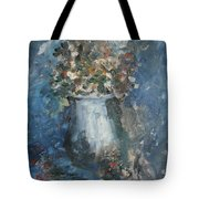 The Blue Vase Tote Bag