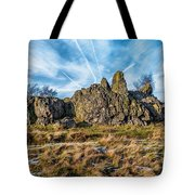 The Bomb Rocks Tote Bag