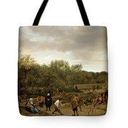 The Bowling Game Tote Bag