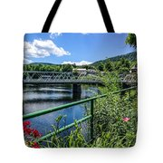 The Bridges At Shelbourne Falls Tote Bag