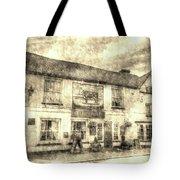 The Bull Pub Theydon Bois Vintage Tote Bag