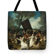 The Burial Of The Sardine Tote Bag