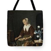 The Cat's Breakfast Tote Bag