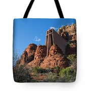 The Chapel Of The Holy Cross Tote Bag