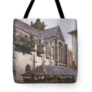 The Church At Moret Tote Bag