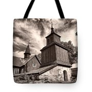 The Church Of Fagervik Tote Bag