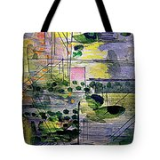 The City 2 Tote Bag