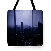 The City Below Tote Bag