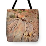 The Color Of Valley Of Fire Tote Bag