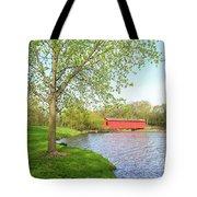 The Covered Bridge Tote Bag