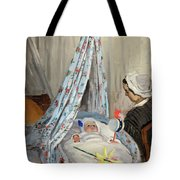 The Cradle - Camille With The Artist's Son Jean Tote Bag