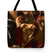The Crowing With Thorns Tote Bag