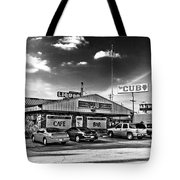 The Cub - Surreal Bw Tote Bag