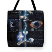 The Danse Macabre Tote Bag