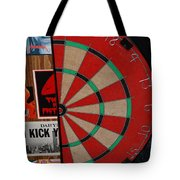 The Dart Board Tote Bag