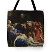 The Dead Christ Mourned The Three Maries Tote Bag