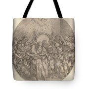 The Descent Of The Holy Spirit Tote Bag
